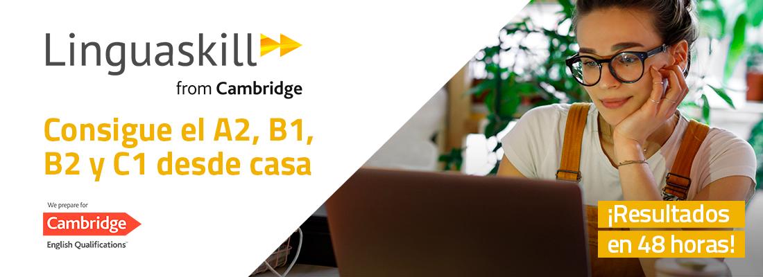 El test de Cambridge que se hace por ordenador desde casa.