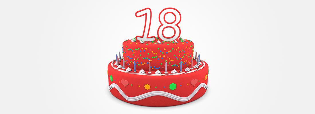 18años